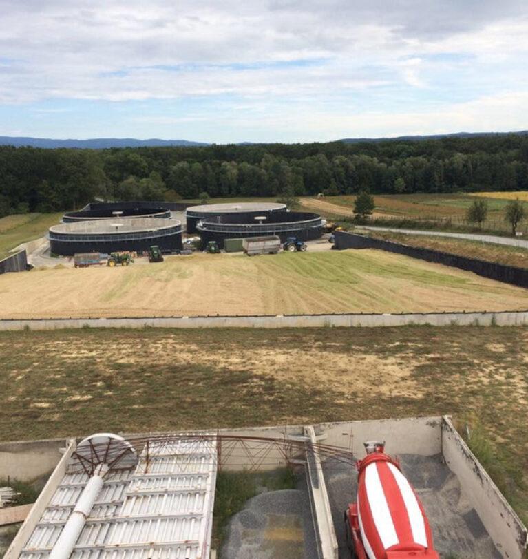Biogasanlage Gaj in Kroatien